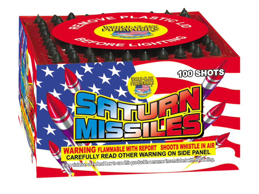 all the cool fireworks sold here like Saturn Missiles