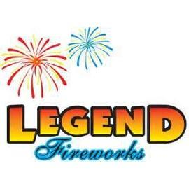 We sell fireworks from legend and other brands